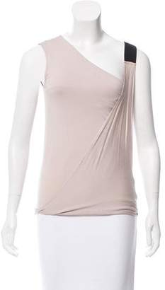 Zero Maria Cornejo Asymmetrical Sleeveless Top