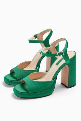 Topshop RENO 90's Platform Heels Sandals