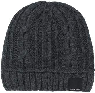 Canada Goose Cable Toque Wool Hat