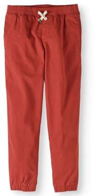Cherokee Boys' Woven Pull On Jogger Pant With Draw String