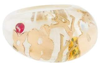 Louis Vuitton Resin Inclusion Ring