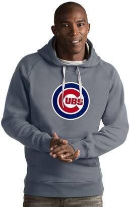 Antigua Men's Chicago Cubs Victory Logo Hoodie