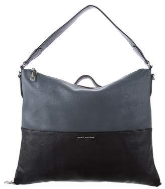 Marc Jacobs Two-Tone Leather Satchel