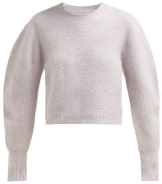Isabel Marant Swinton Round Neck Cashmere Sweater - Womens - Light Pink
