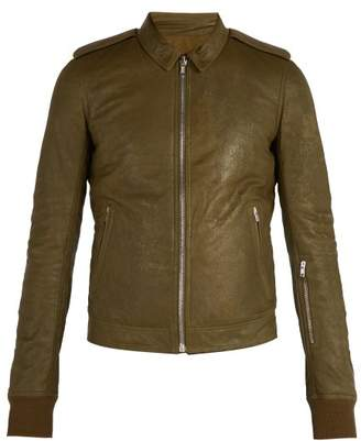 Rick Owens Rotterdam Jacket - Mens - Green