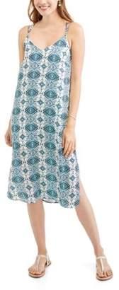 Whoa, Wait Women's Midi Slip Dress