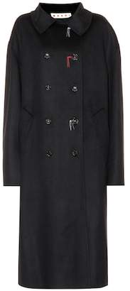 Marni Wool and cashmere-blend coat