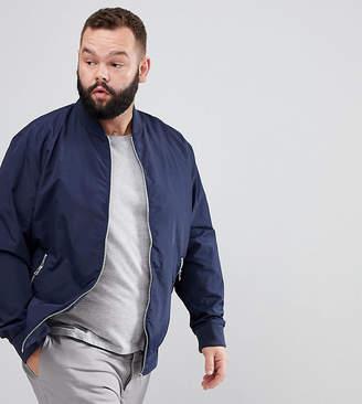 Jack and Jones Originals Plus Size Bomber Jacket