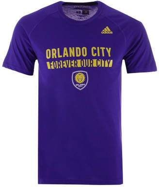 adidas Men Orlando City Sc Utility Work T-Shirt
