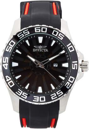 Invicta 25473 Silver-Tone & Black Pro Diver Watch