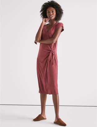 Lucky Brand Side Knot Knit Dress