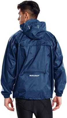 Baleaf Unisex Packable Outdoor Waterproof Rain Jacket Hooded Raincoat Poncho Size XL