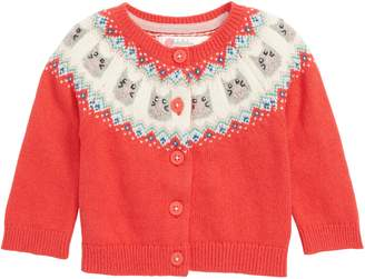 Boden Mini Fair Isle Cardigan