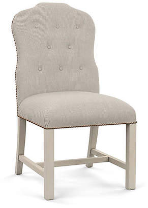 Bunny Williams Home Jack Side Chair - Gray Stripe