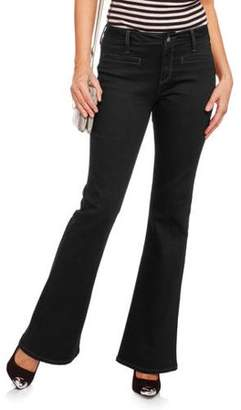 Nevermind Women's Nomad Slit Pocket Flare Jean