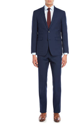 Vince Camuto Two-Piece Blue Twill Suit
