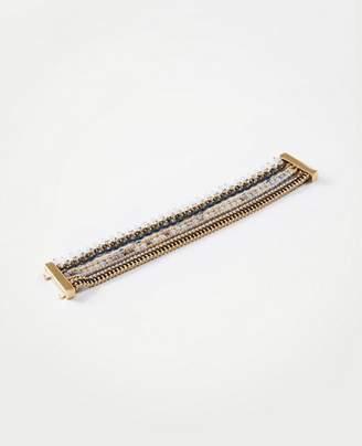 Ann Taylor Triple Strand Bracelet