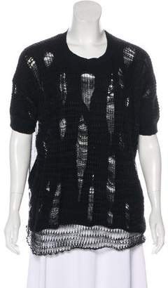 Junya Watanabe Distressed Knit Top