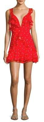 For Love & Lemons Analisa Polka Dot Dress