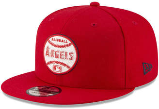 New Era Los Angeles Angels Vintage Circle 9FIFTY Snapback Cap