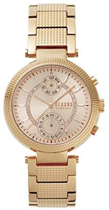 Versus By Versace Women's 'Star Ferry' Quartz Stainless Steel and Gold Plated Casual Watch(Model: S79090017)