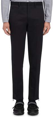 Prada Men's Gabardine Slim Crop Trousers