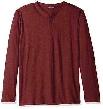 ROBUST Men's Henley Neck Full Sleeve Slub T-Shirt (Size-)