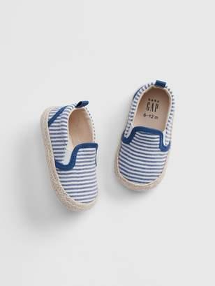 891e4c89b4eadc Gap Baby Stripe Espadrille Slip-On Shoes