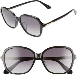 Kate Spade Bryleefs 56mm Round Sunglasses