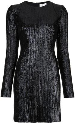 Galvan sequin embellished dress
