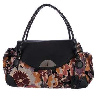 Giorgio Armani Large Tapestry Bag