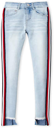 Tommy Hilfiger Girls 7-16) Stripe Jean Mince Skinny Jeans