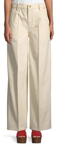Tory Burch Caroline Wide-Leg Jeans