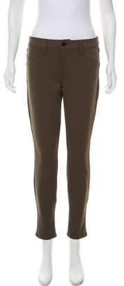 J Brand Mid-Rise Neoprene Pants