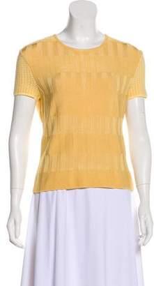 Christian Lacroix Short Sleeve Knit Top