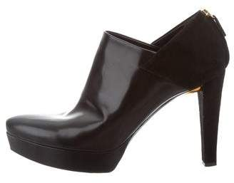 Gucci Pointed-Toe Platform Booties