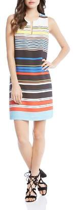 Karen Kane Art Stripe Shift Dress