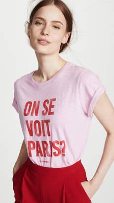 Cinq à Sept See You in Paris Tee
