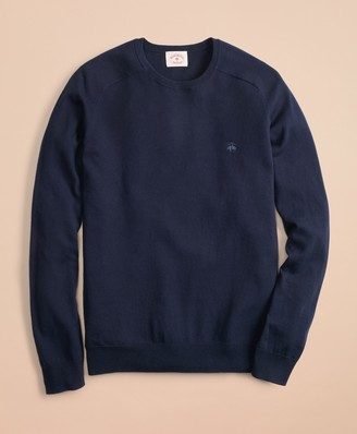 Brooks Brothers Cotton-Cashmere Crewneck Sweater