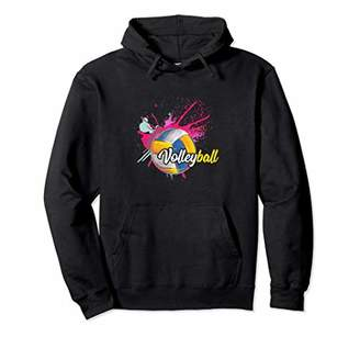 Funny Girls Volleyball Warmup Hoodie Volleyball Gift
