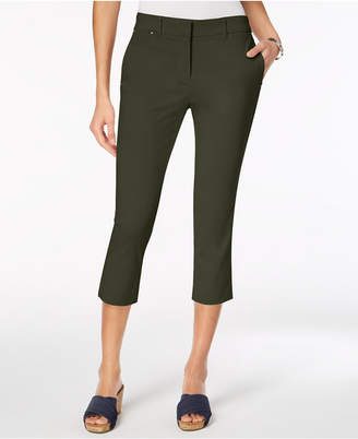Style&Co. Style & Co Straight-Leg Capri Pants, Created for Macy's