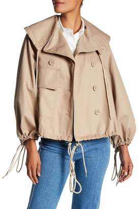 See by Chloe Bell Sleeve Drawstring Jacket