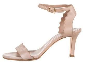 Chloé Lauren Scallop Sandals