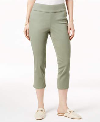 Charter Club Cambridge Pull-On Capri Jeans