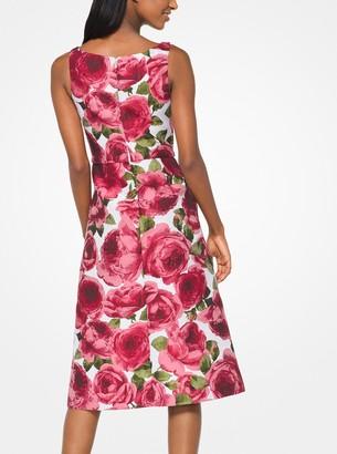 Michael Kors Rose Jacquard Dress