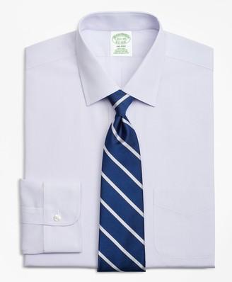 Brooks Brothers Milano Slim-Fit Dress Shirt, Non-Iron Check