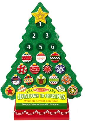 Melissa & Doug Christmas Wooden Advent Calendar