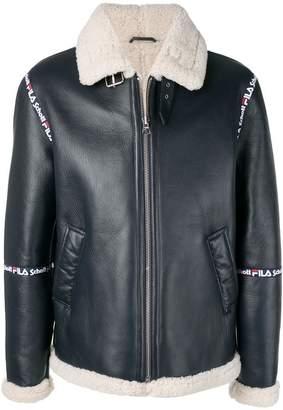 Fila x Schott NYC Melvin sherpa jacket