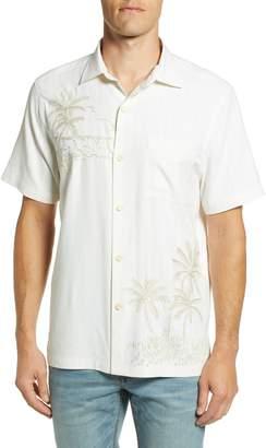 Tommy Bahama Las Playas Palms Silk Camp Shirt