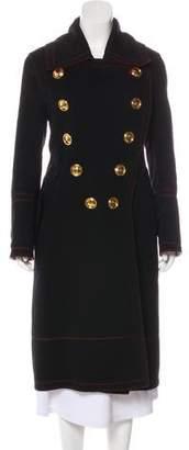 Burberry Wool Military Coat